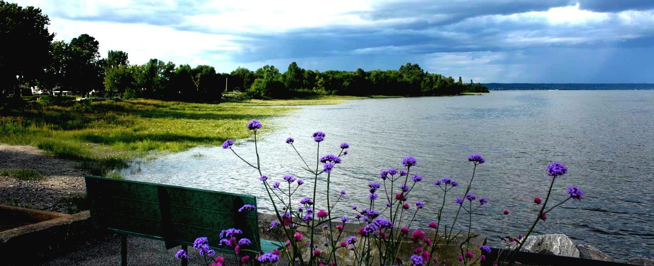 Projet modèle de restauration de la rive et mise en valeur d'un terrain municipal dans le secteur de Deschambault-Grondines